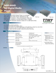 Download DMD-80HD product sheet