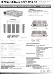 Download TTUFF – IA70SB7-101 product sheet