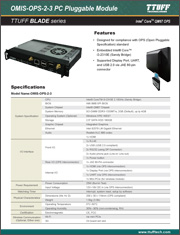 Download OMIS-OPS-2-3 PC Pluggable Module product sheet